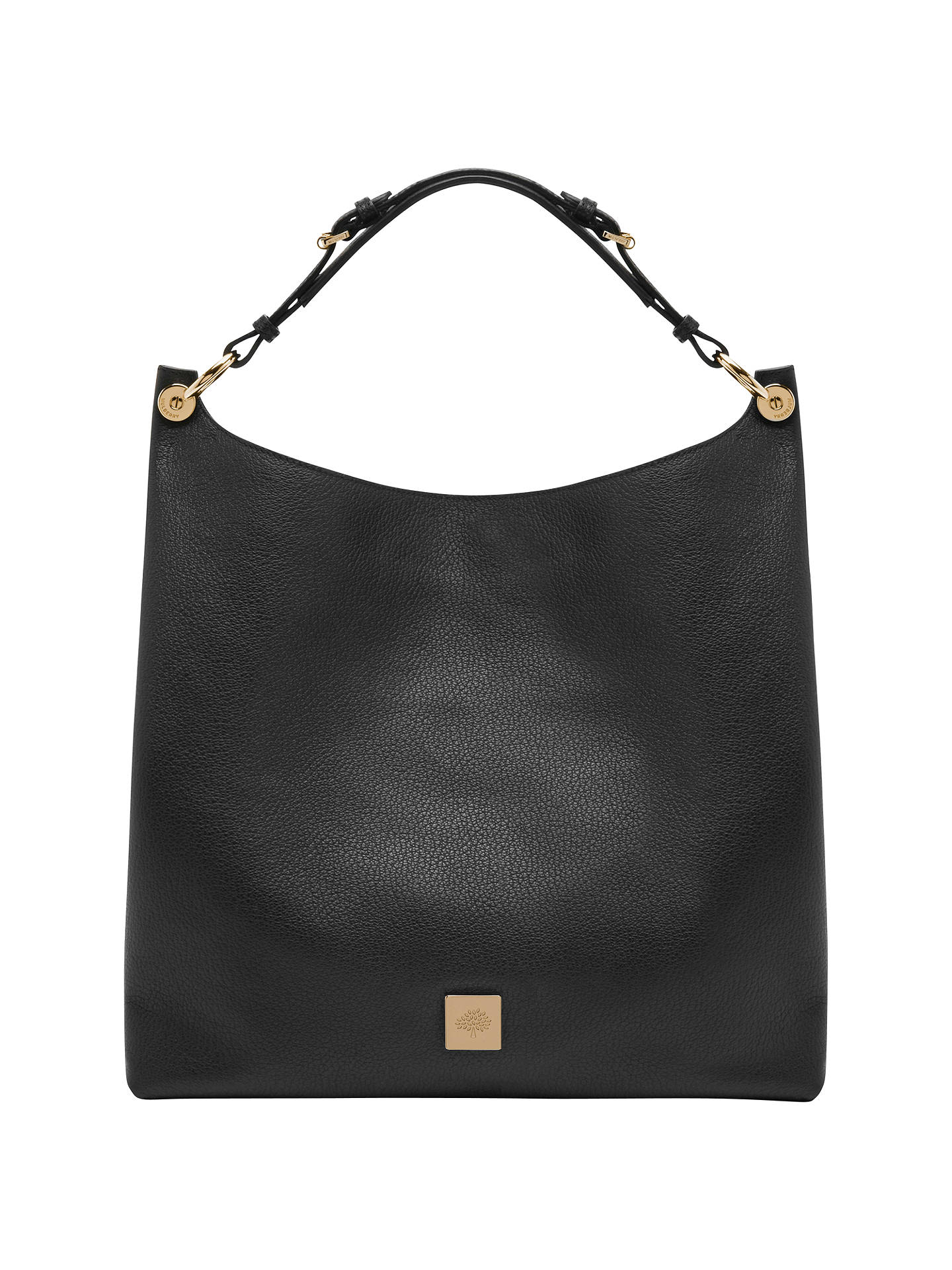 on feet at cheapest price release date: Mulberry Freya Leather Hobo Bag at John Lewis & Partners