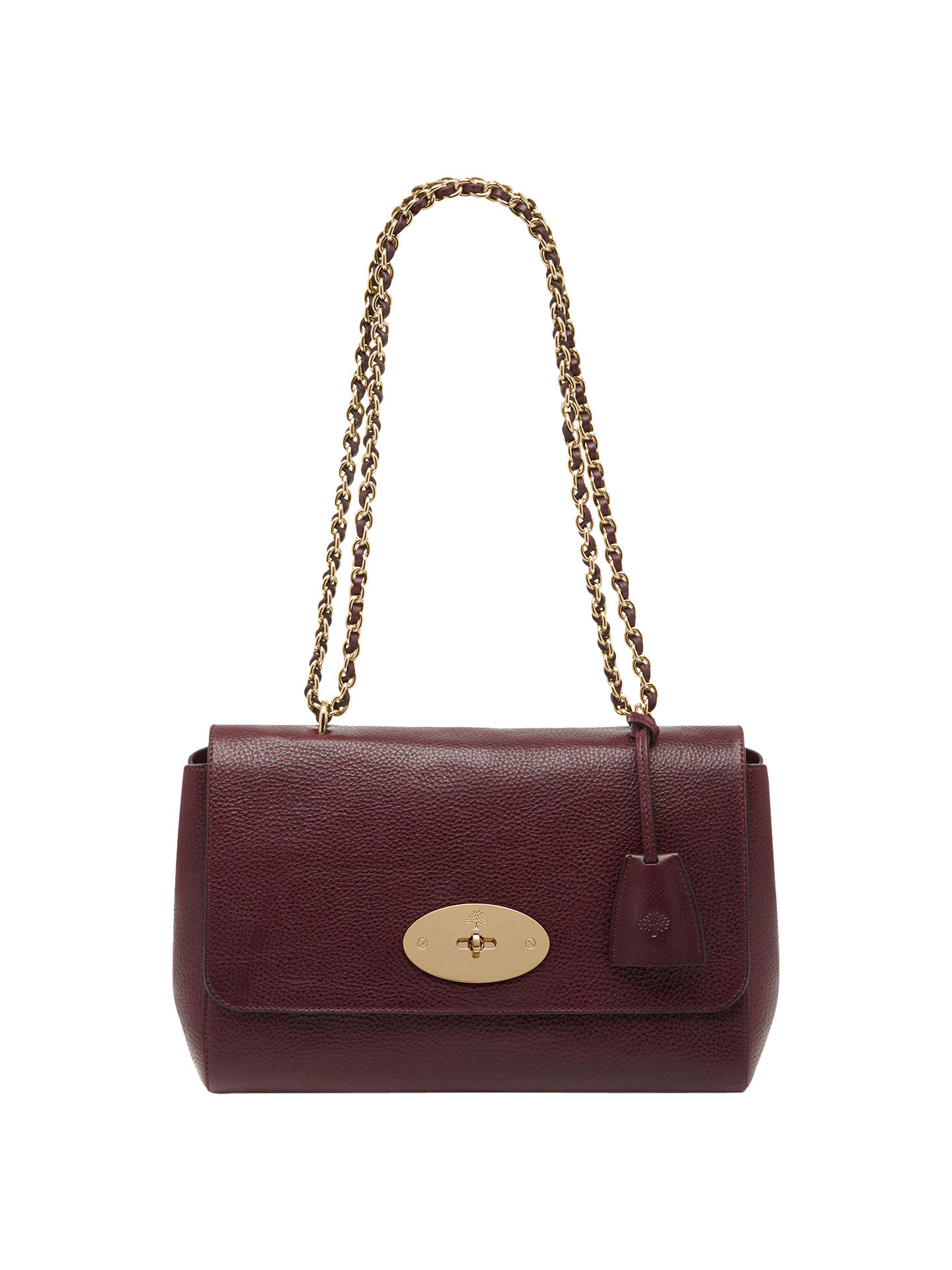 528a7a8c83fa Mulberry Medium Lily Leather Shoulder Bag at John Lewis   Partners