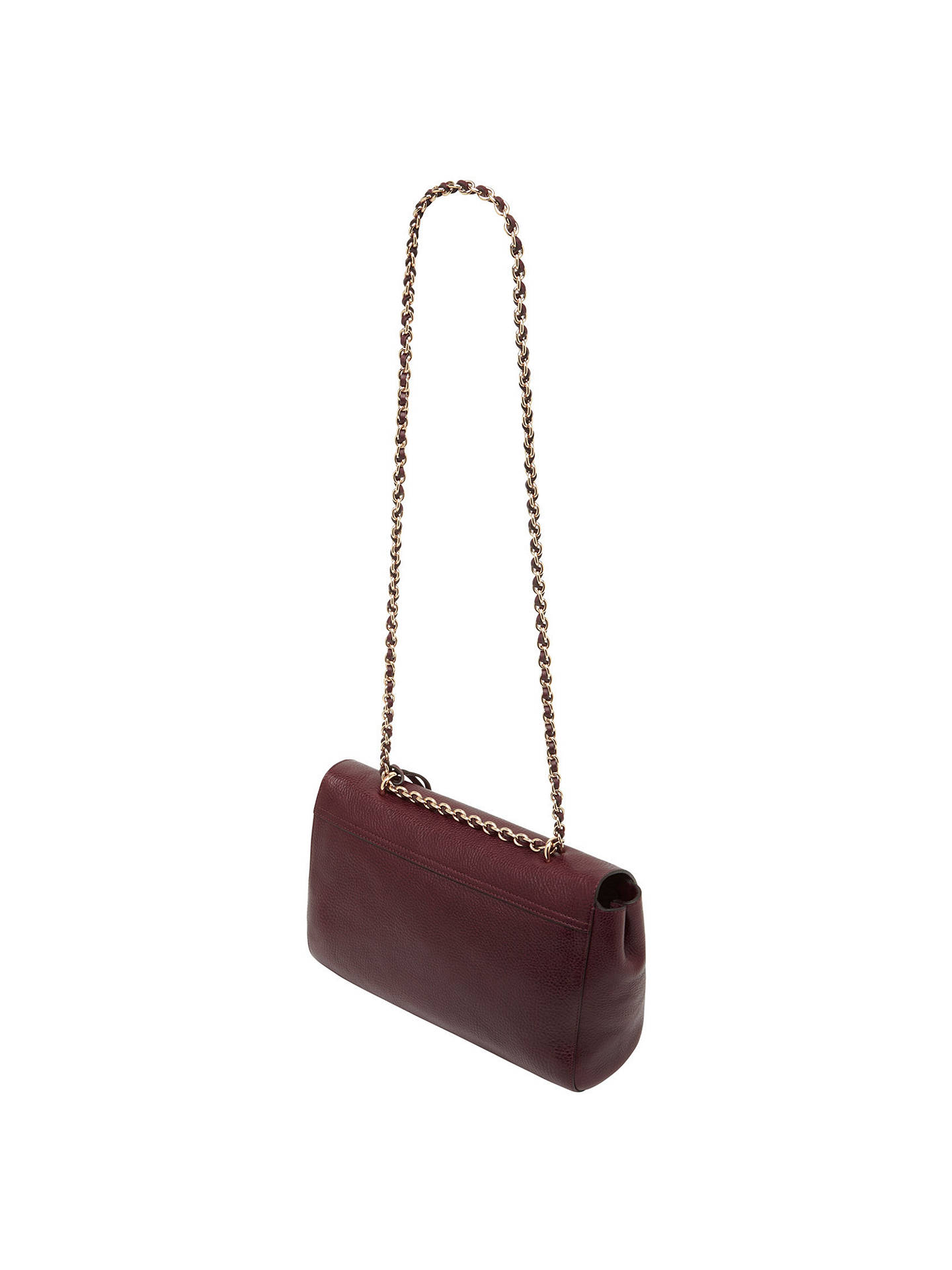 7541cf84edfc Mulberry Medium Lily Leather Shoulder Bag at John Lewis   Partners
