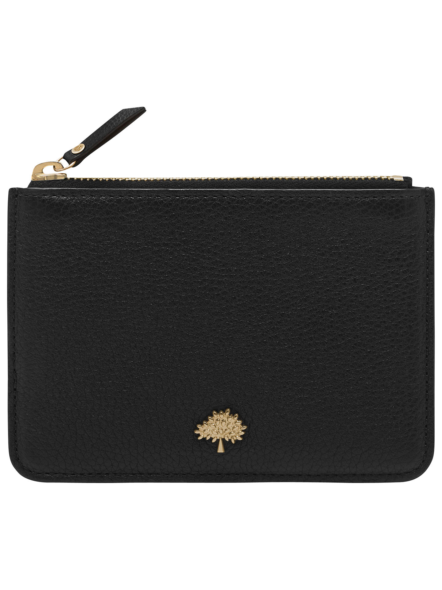 latest classic highly coveted range of Mulberry Tree Leather Small Coin Pouch at John Lewis & Partners