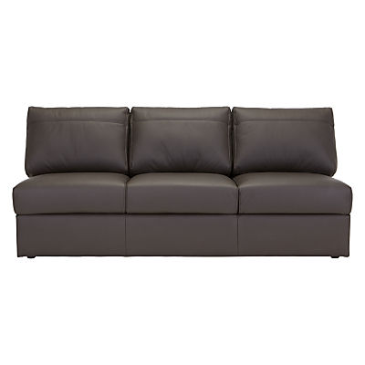 House by John Lewis Finlay II Grand 4 Seater Leather Modular Unit