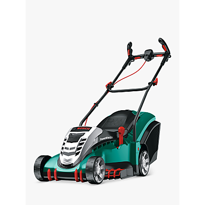 Image of Bosch Rotak 43 LI Ergoflex Cordless Hand-Propelled Electric Lawnmower