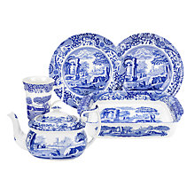 Buy Spode Blue Italian Tableware, Seconds Online at johnlewis.com