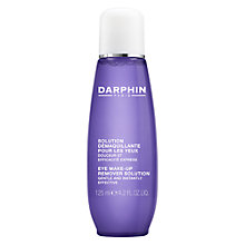 Buy Darphin Eye Make-up Remover, 125ml Online at johnlewis.com