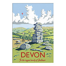 Buy Kelly Hall - Devon Unframed Print with Mount, 30 x 40cm Online at johnlewis.com