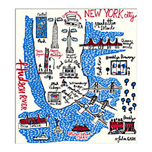 Buy Julia Gash - New York Unframed Print with Mount, 30 x 40cm Online at johnlewis.com