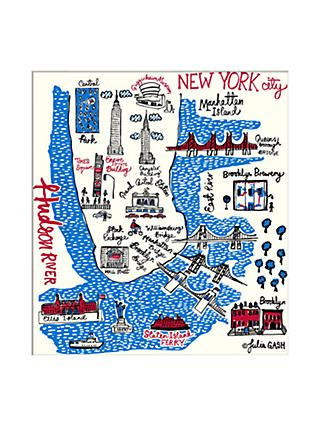 Julia Gash - New York Unframed Print with Mount, 30 x 40cm