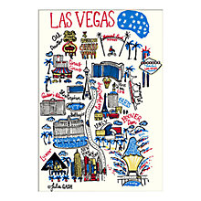Buy Julia Gash - Las Vegas Unframed Print with Mount, 30 x 40cm Online at johnlewis.com