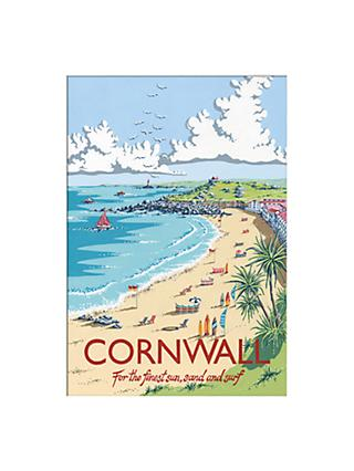Kelly Hall - Cornwall Unframed Print with Mount, 30 x 40cm