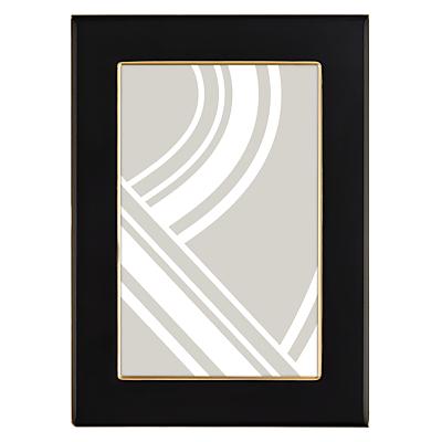 John Lewis Boutique Photo Frame, 4 x 6, Black & Gold