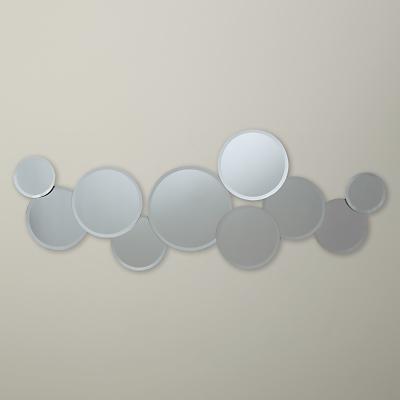 John Lewis Beads Bevelled Glass Mirror, 51.5 x 135cm