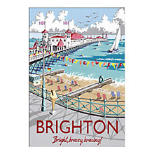 Buy Kelly Hall - Brighton Unframed Print with Mount, 30 x 40cm Online at johnlewis.com
