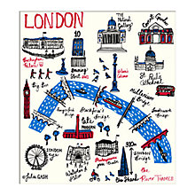Buy Julia Gash - London Unframed Print with Mount, 30 x 40cm Online at johnlewis.com