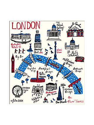 Julia Gash - London Unframed Print with Mount, 30 x 40cm