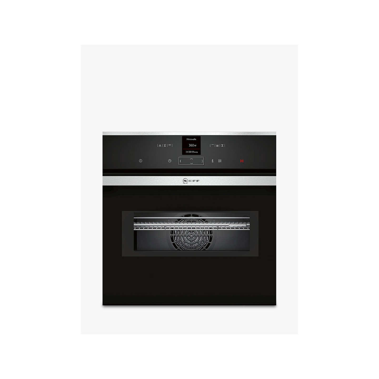Neff C17MR02N0B Built in bination Microwave Oven Stainless Steel