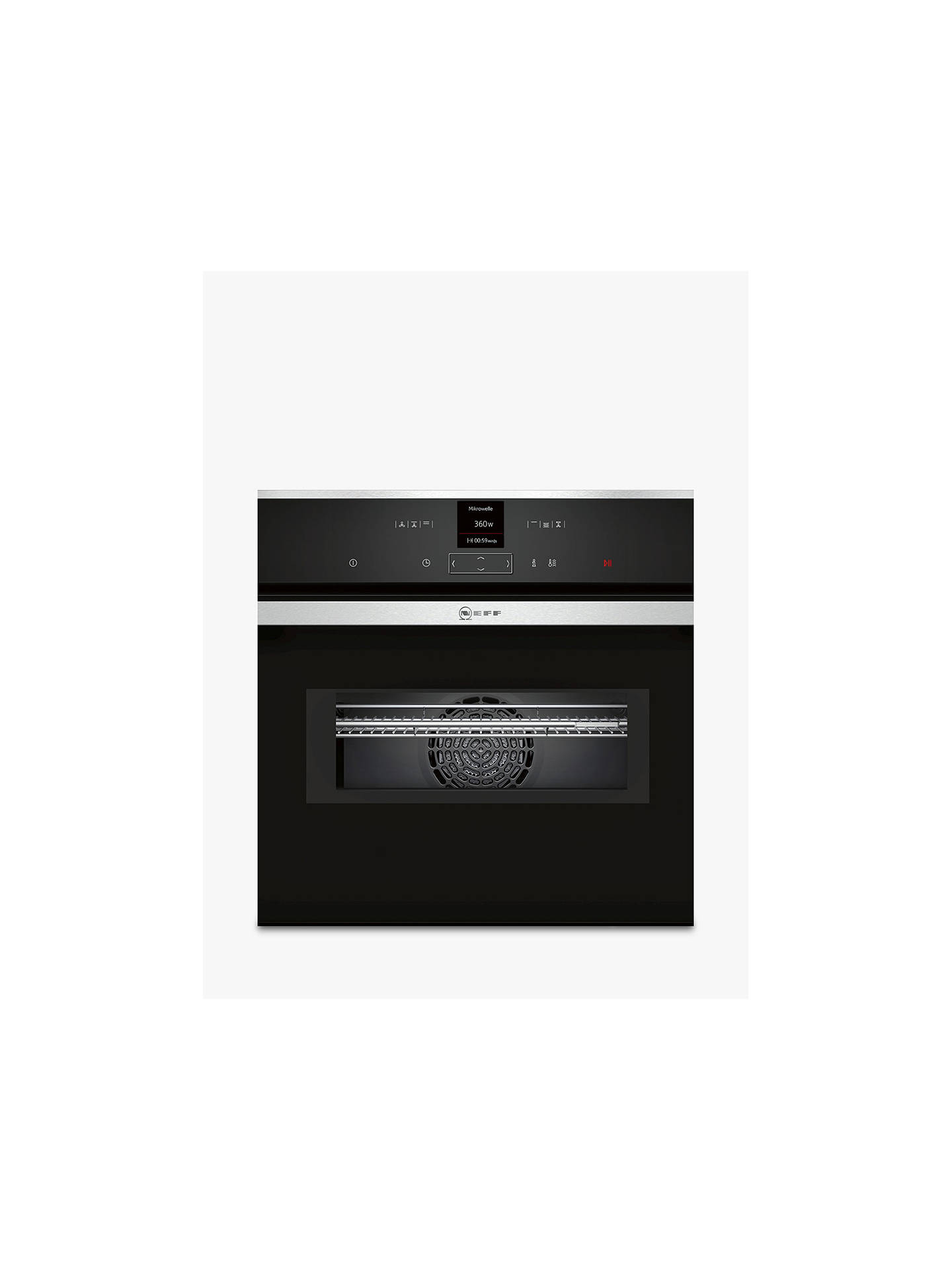 Neff C17mr02n0b Built In Combination Microwave Oven