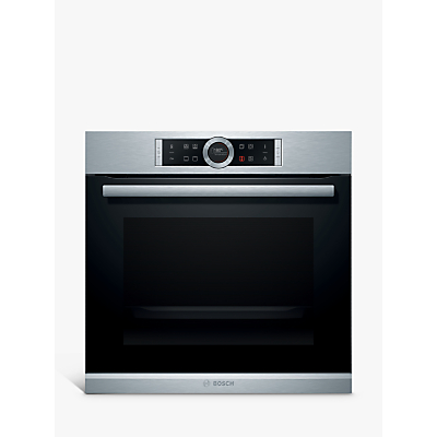 Image of Bosch HBG634BS1B Brushed Steel Electric Multi-Function Oven
