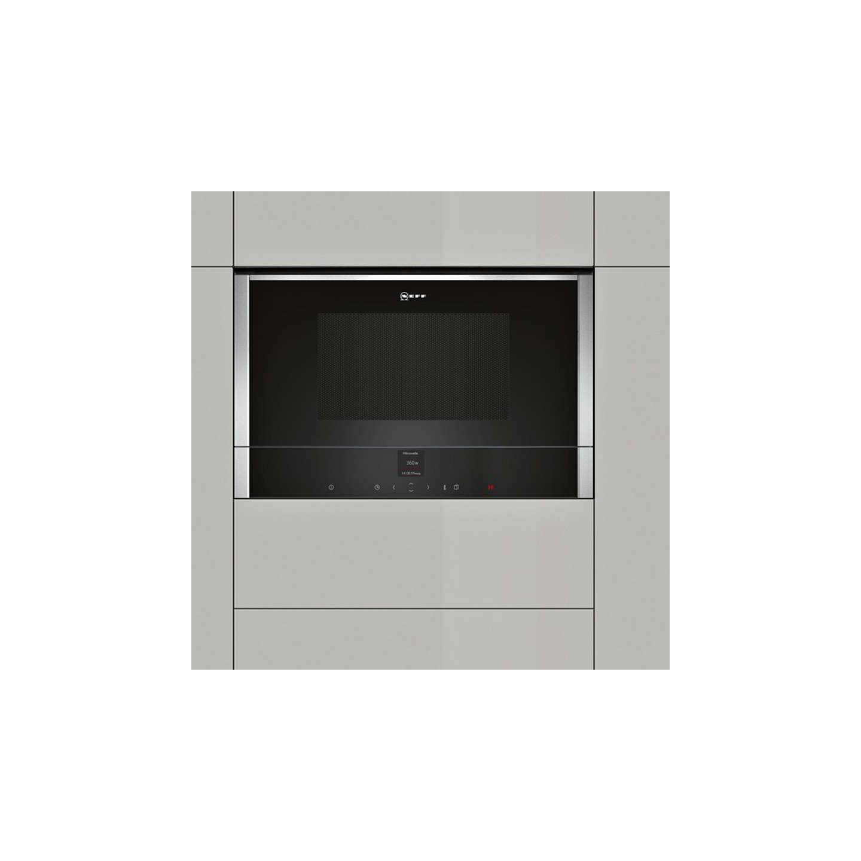 Neff C17wr01n0b Built In Microwave Stainless Steel Online At Johnlewis