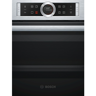 Image of Bosch CBG675BS1B Built-In Compact Combination Oven, Stainless Steel