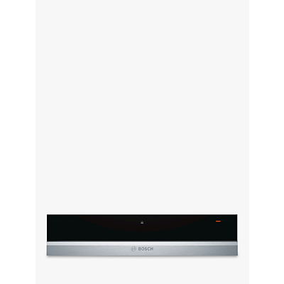 Image of Bosch BIC630NS1B 14cm Height Push-pull Warming Drawer Stainless Steel