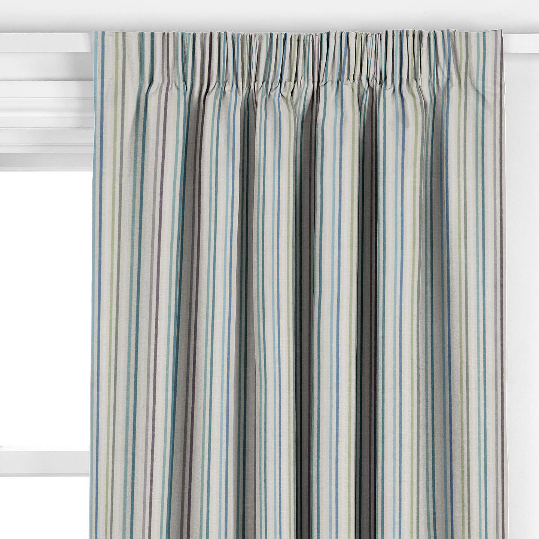 john lewis catalan stripe curtain duck egg at john lewis. Black Bedroom Furniture Sets. Home Design Ideas