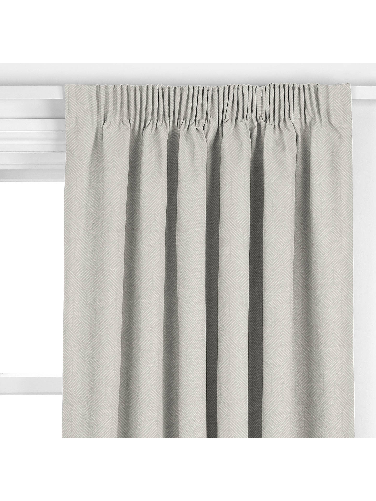 Buy John Lewis & Partners Esher Made to Measure Curtains, Blue Grey Online at johnlewis.com