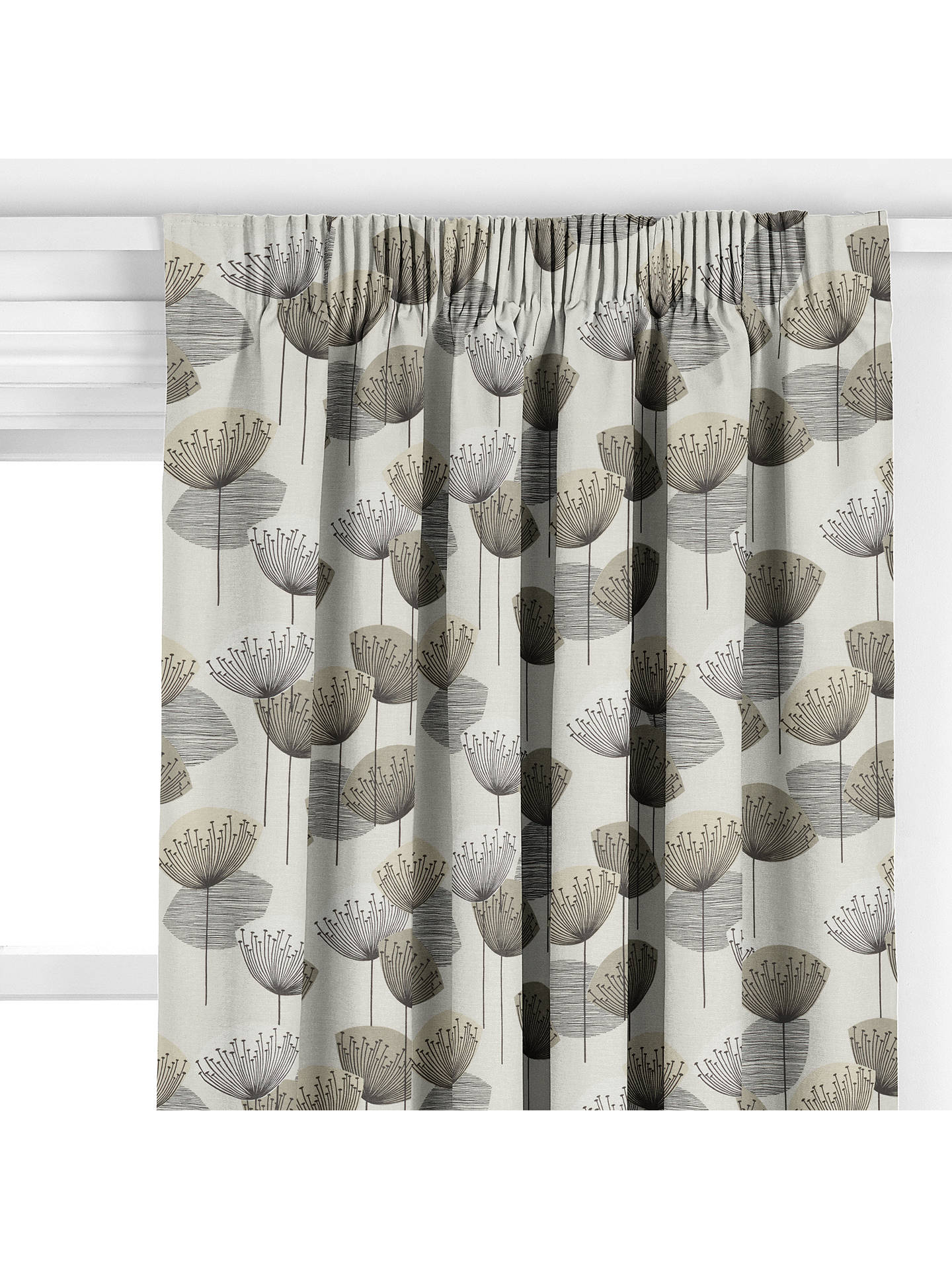 Sanderson Dandelion Clocks Made To Measure Curtains Neutral Natural