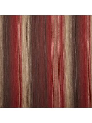 John Lewis & Partners Horizon Stripe Furnishing Fabric, Red