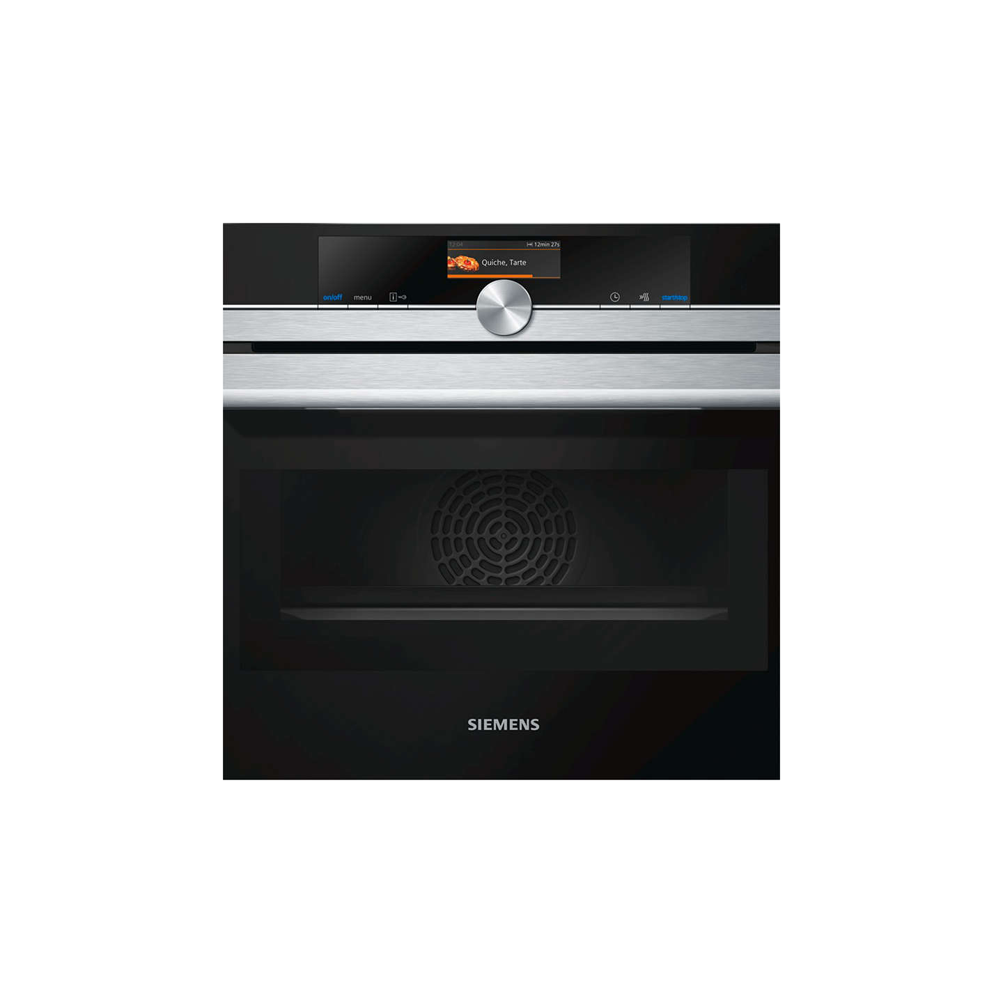 Siemens CM656GBS1B Built-in Combination Microwave Oven, Stainless ...