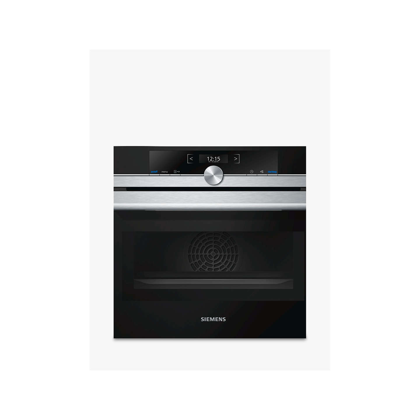 Siemens CM633GBS1B Built-In Compact Oven with Microwave, Stainless ...