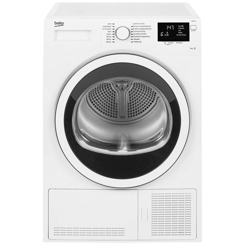 Loading Tumble Dryer ~ Beko dcj w condenser tumble dryer kg load b energy