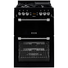 Buy Leisure CK60GAK Gas Cooker, Black Online at johnlewis.com