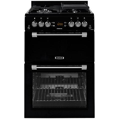 buy leisure ck60gak gas cooker black john lewis. Black Bedroom Furniture Sets. Home Design Ideas