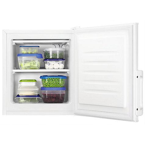 buy zanussi zfx31400wa compact freezer a energy rating 44cm wide white online