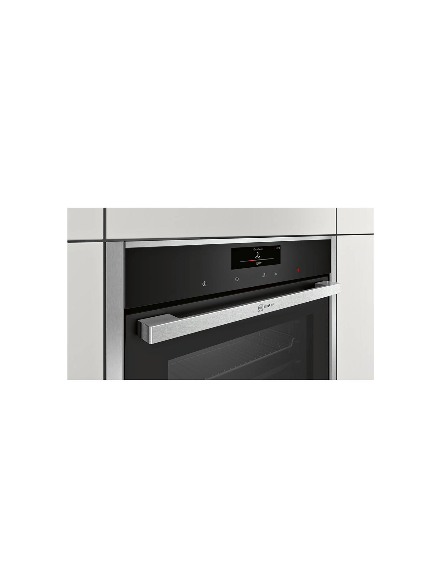 Neff C28ct26n0b Compact Easyclean Single Electric Oven Stainless