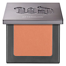 Buy Urban Decay Afterglow Blush Online at johnlewis.com