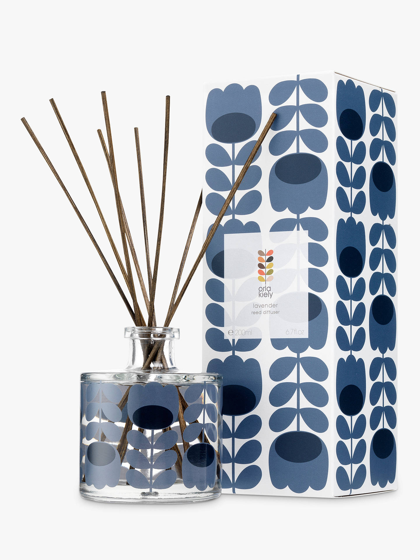 BuyOrla Kiely Lavender Scented Reed Diffuser, 200ml Online at johnlewis.com