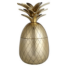 Buy John Lewis Decorative Gold Pineapple, Small Online at johnlewis.com