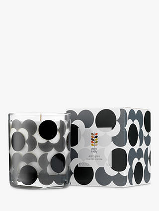 Buy Orla Kiely Earl Grey Scented Candle, 200g Online at johnlewis.com
