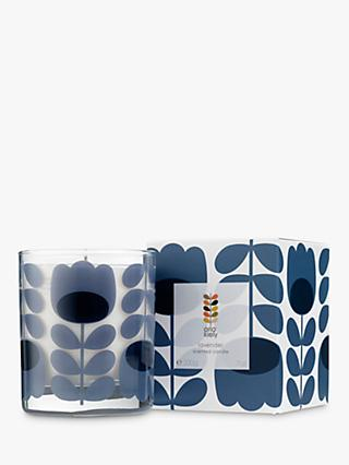 Orla Kiely Lavender Scented Candle, 200g