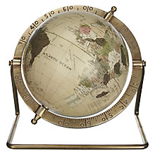 Buy John Lewis Globe on Metal Stand Online at johnlewis.com