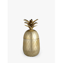 Buy John Lewis Gold Pineapple, Large Online at johnlewis.com