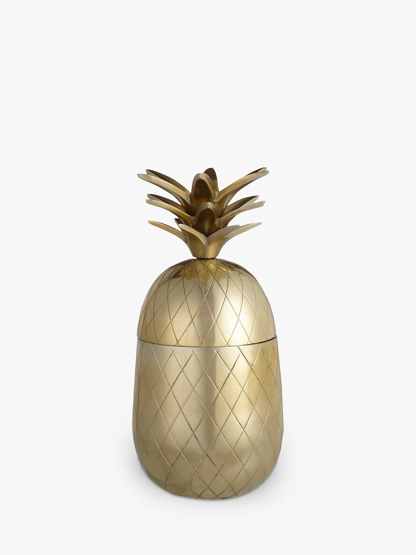 BuyJohn Lewis & Partners Gold Pineapple, Large Online at johnlewis.com