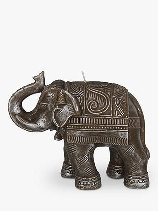 Buy John Lewis & Partners Silver Elephant Candle Online at johnlewis.com