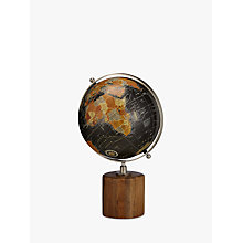 Buy John Lewis Large Globe on Wooden Stand, Black Online at johnlewis.com