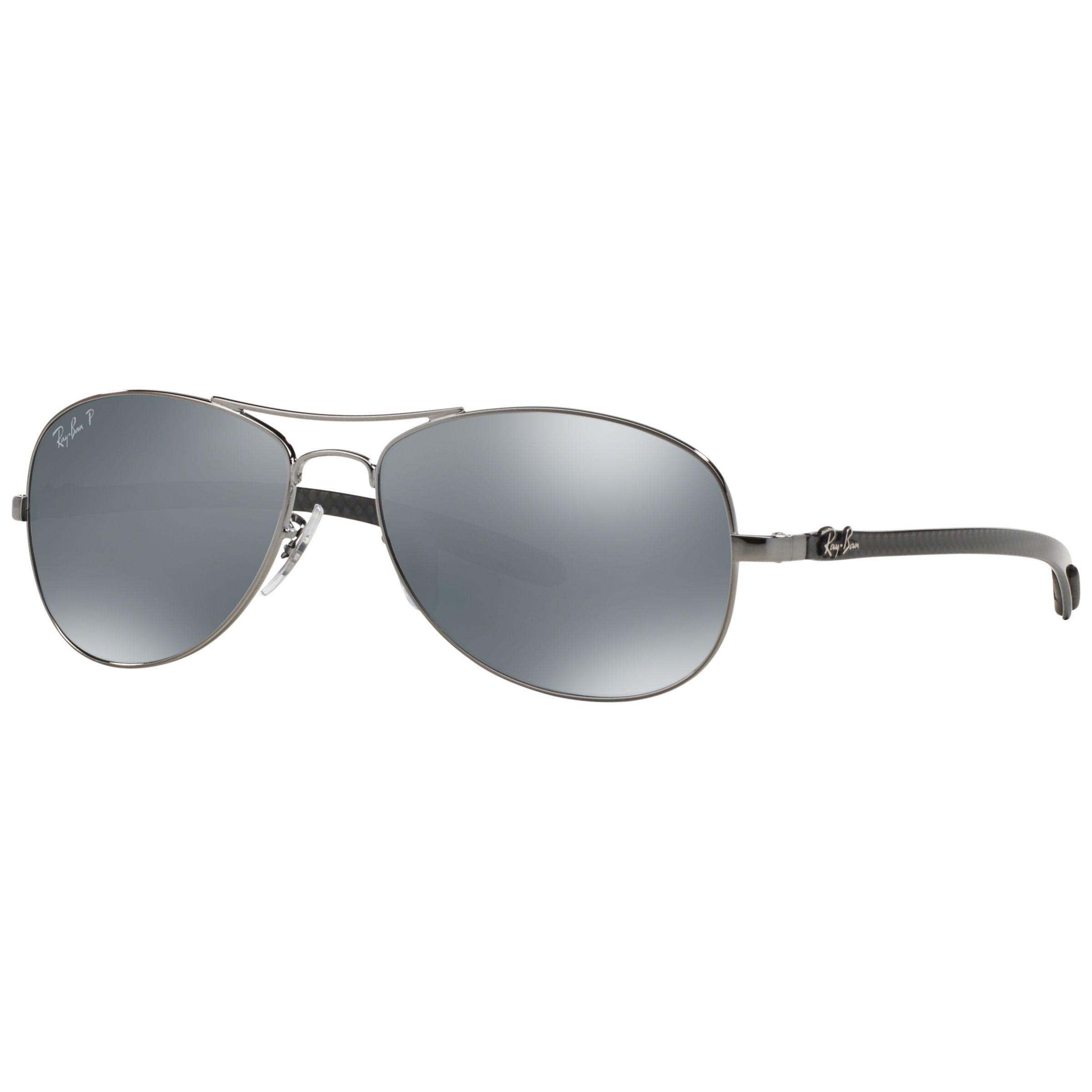 16e46d2dcf Ray-Ban RB8301 Polarised Carbon Fibre Pilot Sunglasses