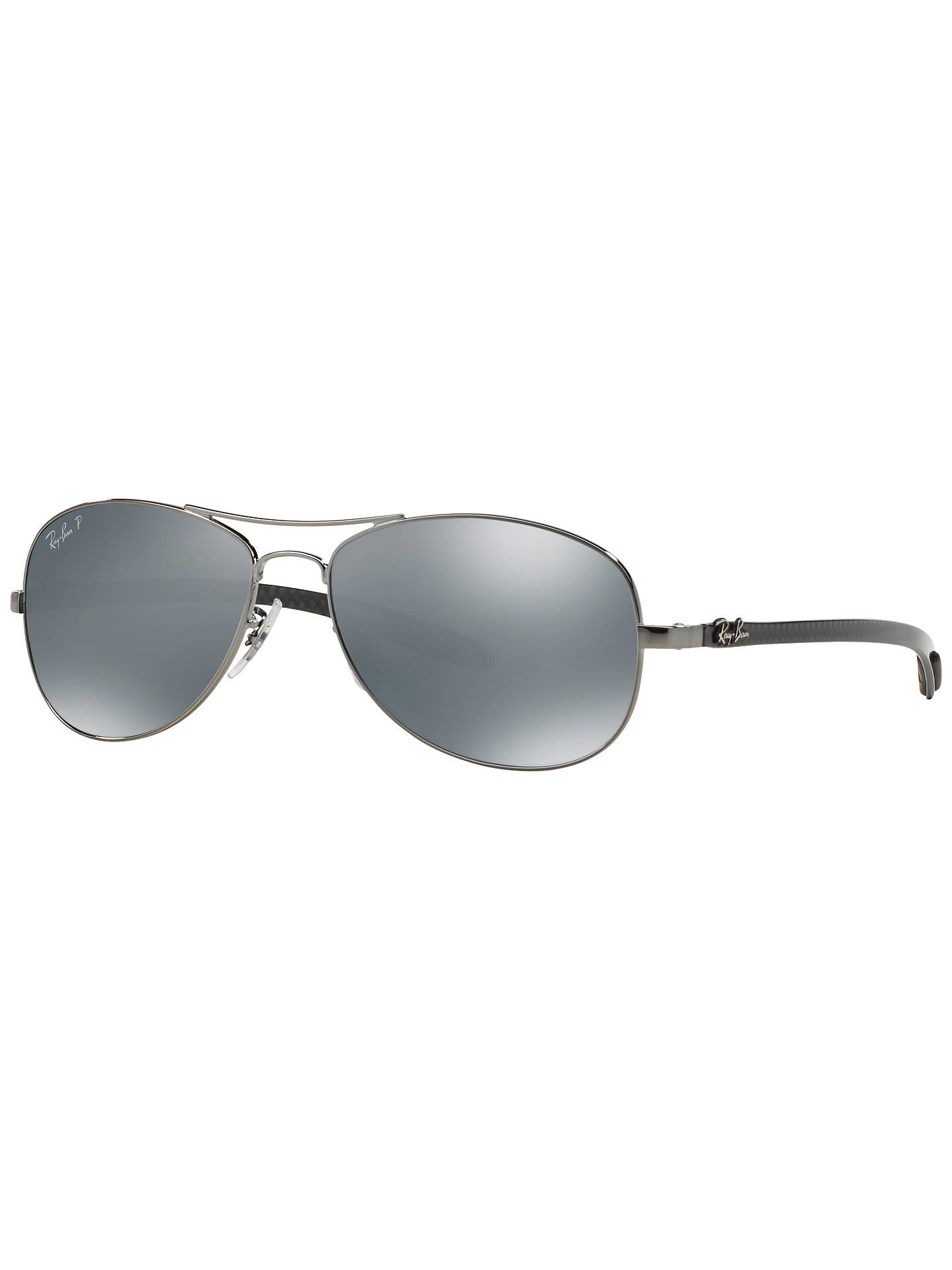 f61e9221d1 BuyRay-Ban RB8301 Polarised Carbon Fibre Pilot Sunglasses