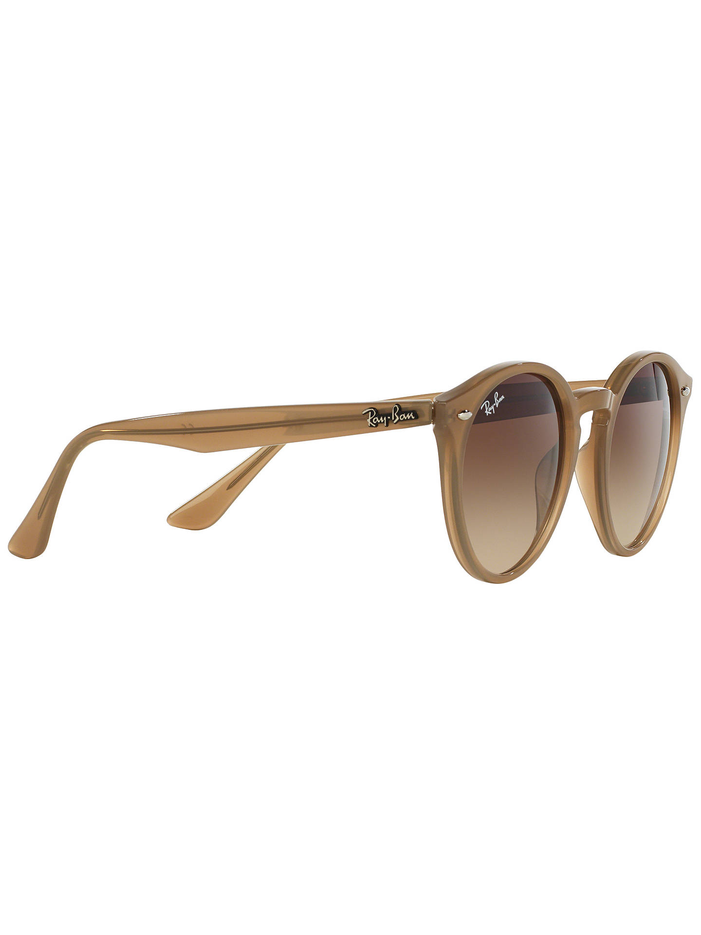 071214b8e07 Ray-Ban RB2180 Round Framed Sunglasses at John Lewis   Partners
