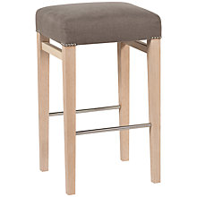 Buy Neptune Shoreditch Bar Stool, Grey Linen Online at johnlewis.com