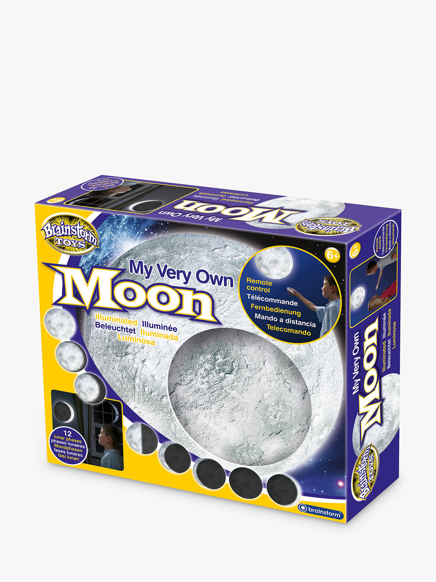BuyRemote-Controlled Illuminated Moon Online at johnlewis.com